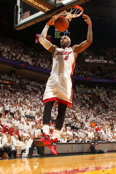 lebron james nba 140524 mia vs ind 16 game 3 LeBron, D Wade and Ray Allen Lead Miamis Comeback in Game 3
