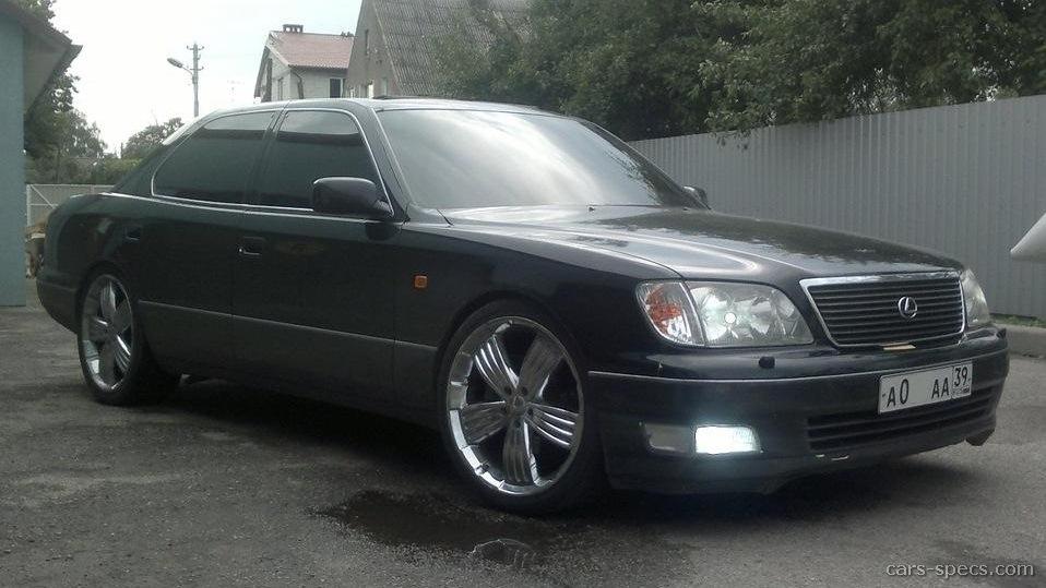 1995 lexus ls 400 sedan specifications pictures prices. Black Bedroom Furniture Sets. Home Design Ideas