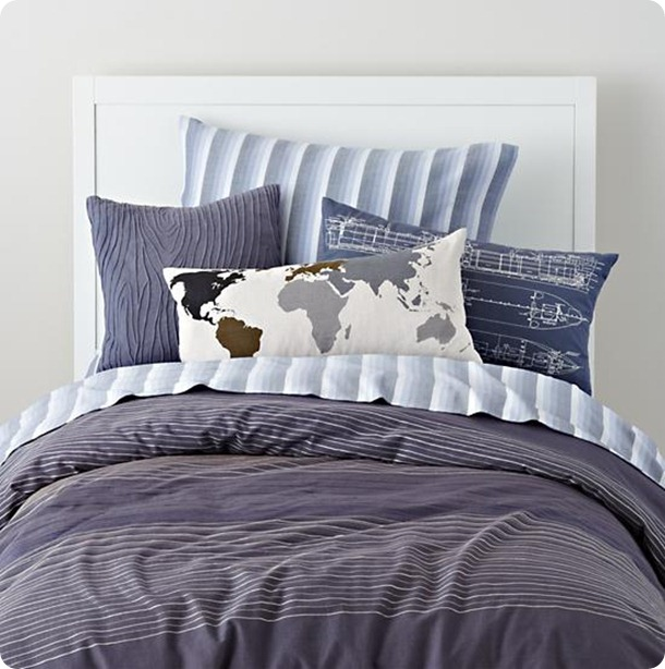 faculty-mixer bedding from Land of Nod