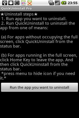 快速移除apps工具