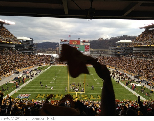 'Christmas Eve Steeler game' photo (c) 2011, jen robinson - license: http://creativecommons.org/licenses/by/2.0/