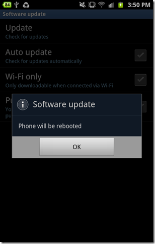 Update Android 4.0 10