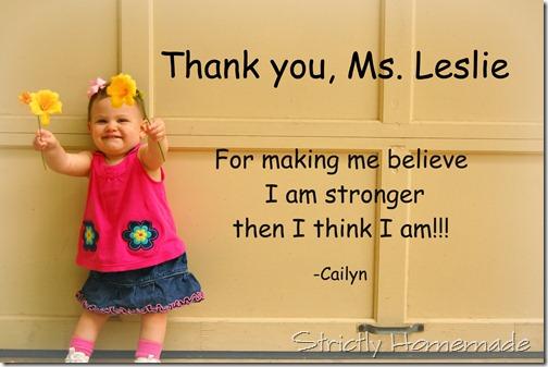 Ms Leslie