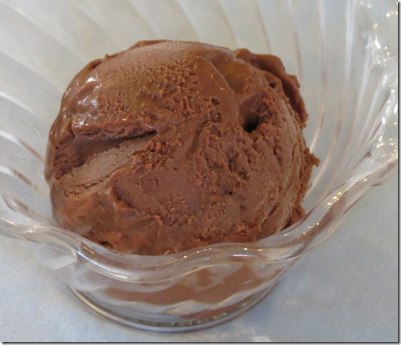 Frozen Chocolate Mousse 8-14-12