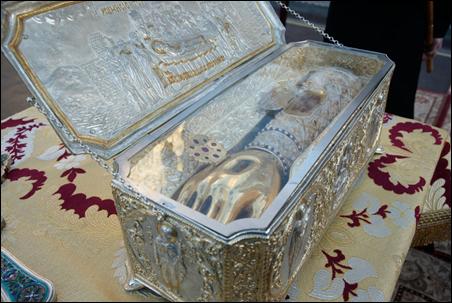 Мощі святого великомученика Димитрія Солунського в Луцьку