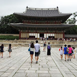 Changdeokgung palace in Seoul, Seoul Special City, South Korea