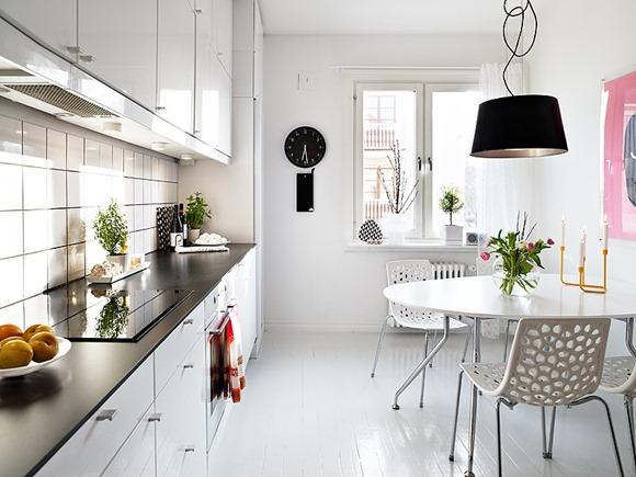 decoración cocina con estilo sueco