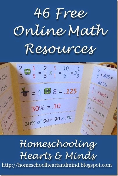 46 free online math resources