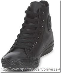 Converse in schwarz