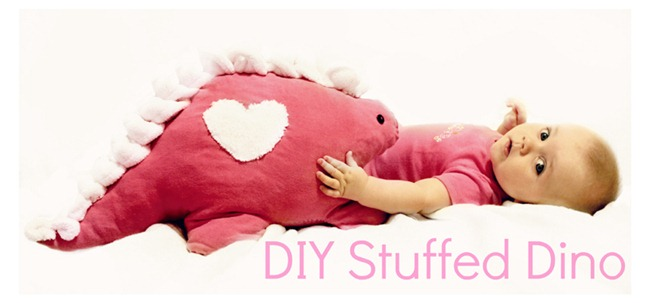 DIY Stuffed Dino