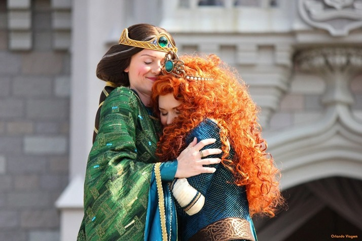 Princesas-Disney-Merida-e-Rainha-Elinor