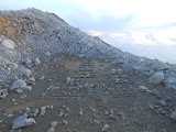 Volcanic landscape at Kawah Jero, Gunung Welirang (Dan Quinn, June 2013)