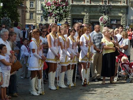 Majorete goale Ucraina