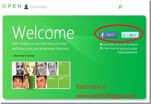 Microsoft Social Search Network Tulalip2