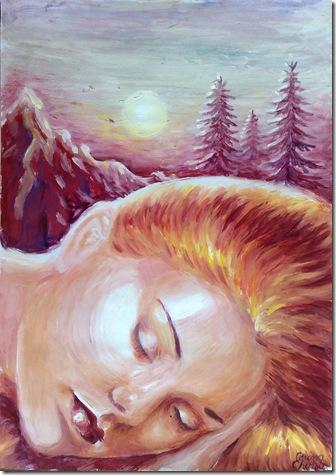 Vara de noiembrie sau muza adormita a poetului Lucian Blaga