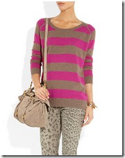 Crumpet Striped Cashmere Sweater at Netaporter