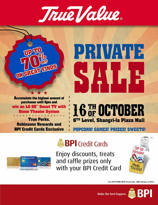 True Value Shang Private Sale
