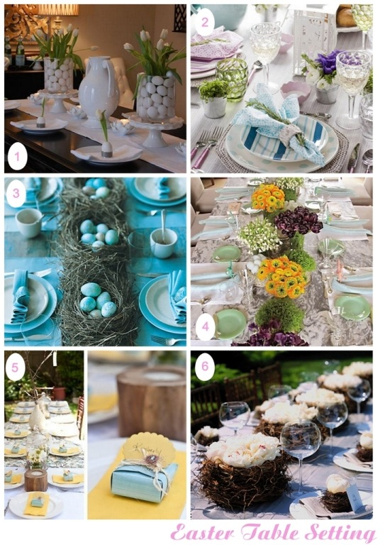 SemplicementePerfetto Easter Table Setting 2