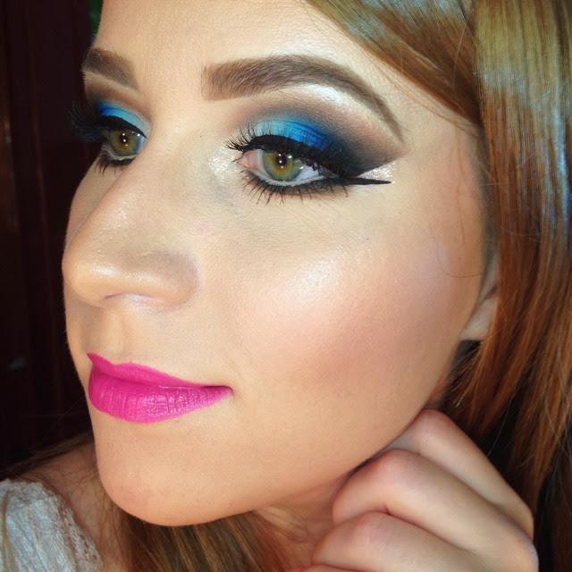 tutorial de maquiagem para o reveillon