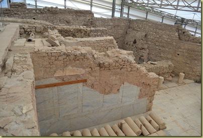 Ephesus Houses looking down a floor