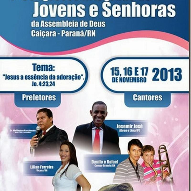 I Congresso Integrado de Jovens e Senhoras em Paraná-RN
