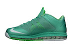 nike lebron 10 low gr green white 3 03 easter LEBRON X LOW, KOBE 8 and KD V   Nike Easter Collection