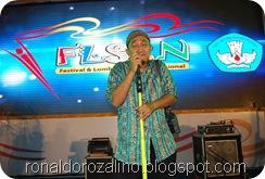 Wali Band Buka Festival Lomba Seni Siswa Nasional, FLS2N Tingkat Nasional 2013 di Medan 10