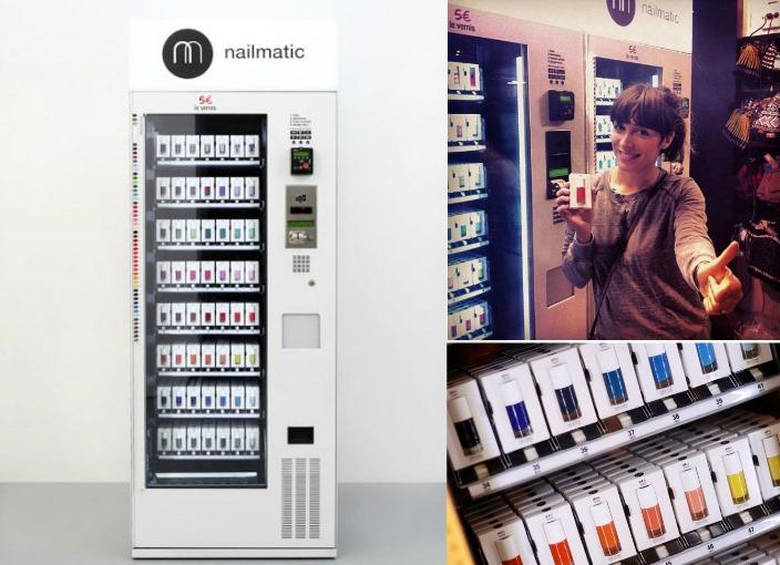 maquina de vendas esmaltes vending machine