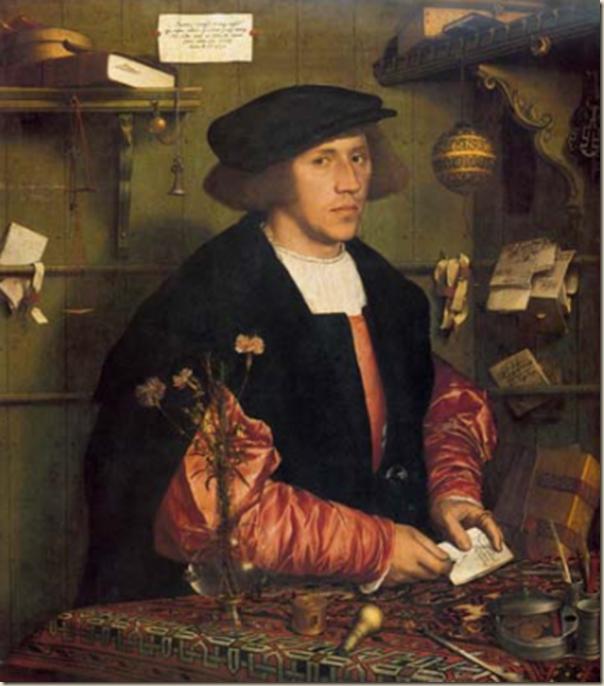 Holbein, Portrait de Georg Gisze
