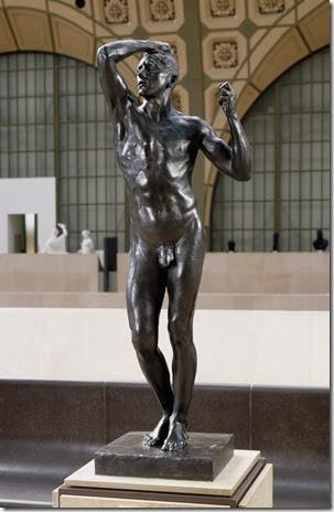 Auguste Rodin - L'Age d'airain