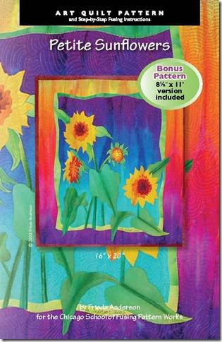 Frieda's covers Sunflowers