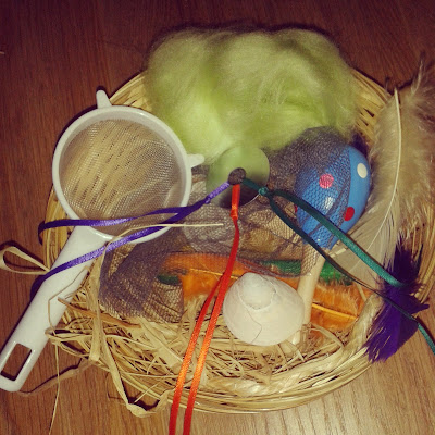 treasure baskets in professional childcare settings