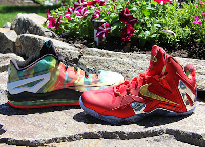 nike lebron 11 low pe championship pack 2 19 LBJ Wears LeBron 11 Low Championship Sample at His Skills Academy