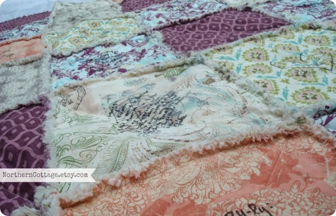 Rag Quilt {NorthernCottage}