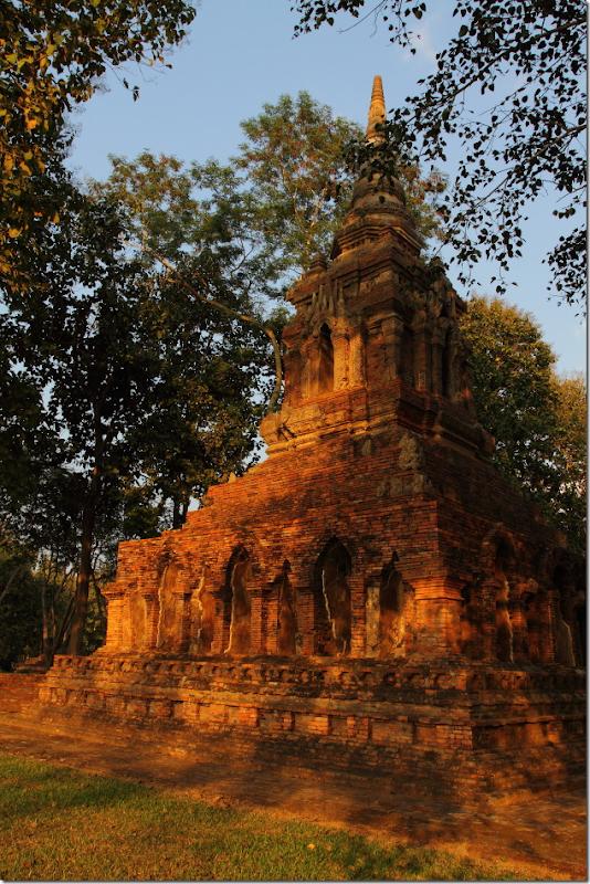 Ruins of Wat Pa Sak, Chiang Saen, Thailand