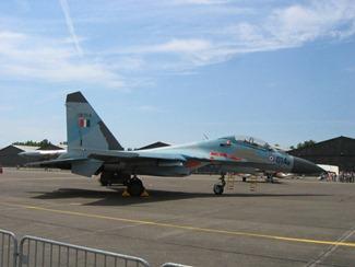 Sukhoi Su-30MK-1/K, earlier flown by the Indian Air Force [IAF]