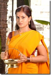 Ramya Nambeesan in half saree