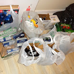 garbage aftermarth in Toronto, Ontario, Canada