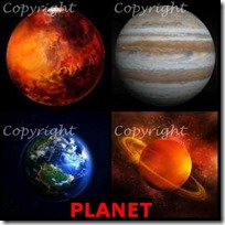 PLANET- 4 Pics 1 Word Answers 3 Letters