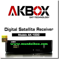 AKBOX AK-1000 HD