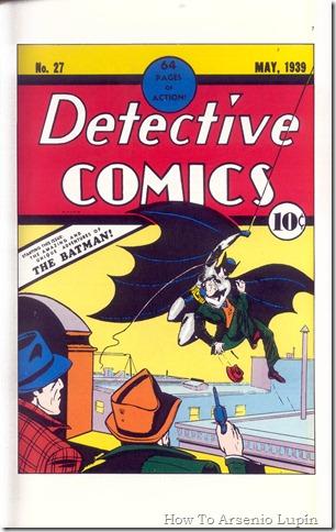 2011-12-07 - Primera aparicion de Batman