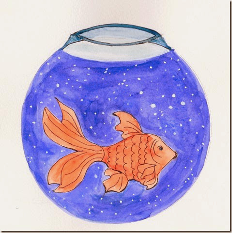 Universe Glodfish Bowl