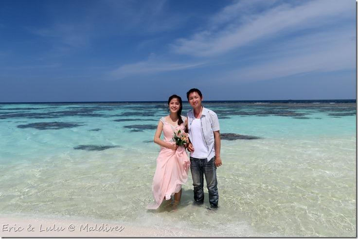 馬爾地夫腳架婚紗 (39)