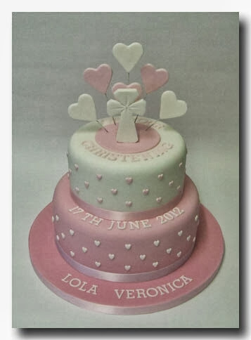 Cake Ideas For Girl Baptism : Sweet Mischief Ja Cake Ideas: Christening cakes