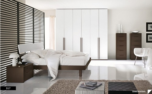 diseños de dormitorios modernos