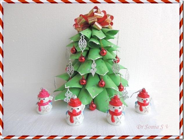 Paper Christmas tree 14