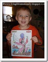 Captain Hook Coloring Sheet