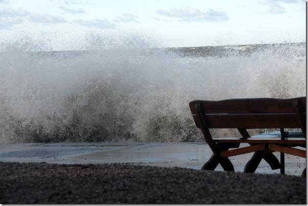 Styczniowe morze i bułeczki z zurawiną i marcepanem (8)