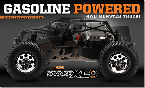 HPI Savage XL Octane Revolution