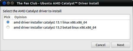 AMD Catalyst install 3.9 in Ubuntu Linux